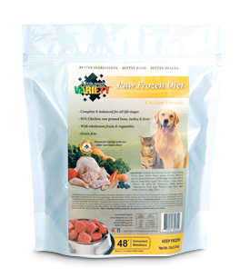 Natural variety dog food
