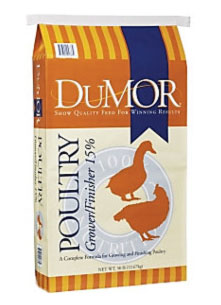 Limited Recall Of DuMOR® Poultry Grower/Finisher Bags Containing DuMOR® Poultry Layer 16% Crumbles Because of Possible Animal Health Risk