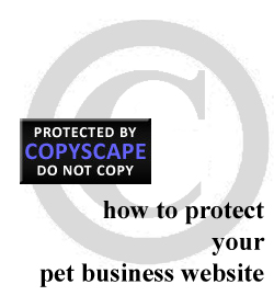Protect your pet business website