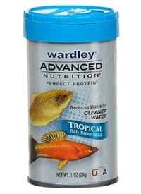 The Hartz Mountain Corporation Recalls Four Lots of Wardley® Advanced Nutrition™ Perfect Protein™ Tropical Flake Fish Food Because of Possible Salmonella Health Risk